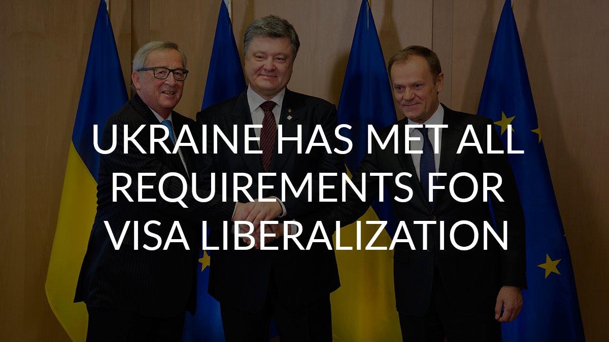 Libéralisation du régime des visas européens pour l'Ukraine - Page 5 CdvXUC0W8AAmQuG