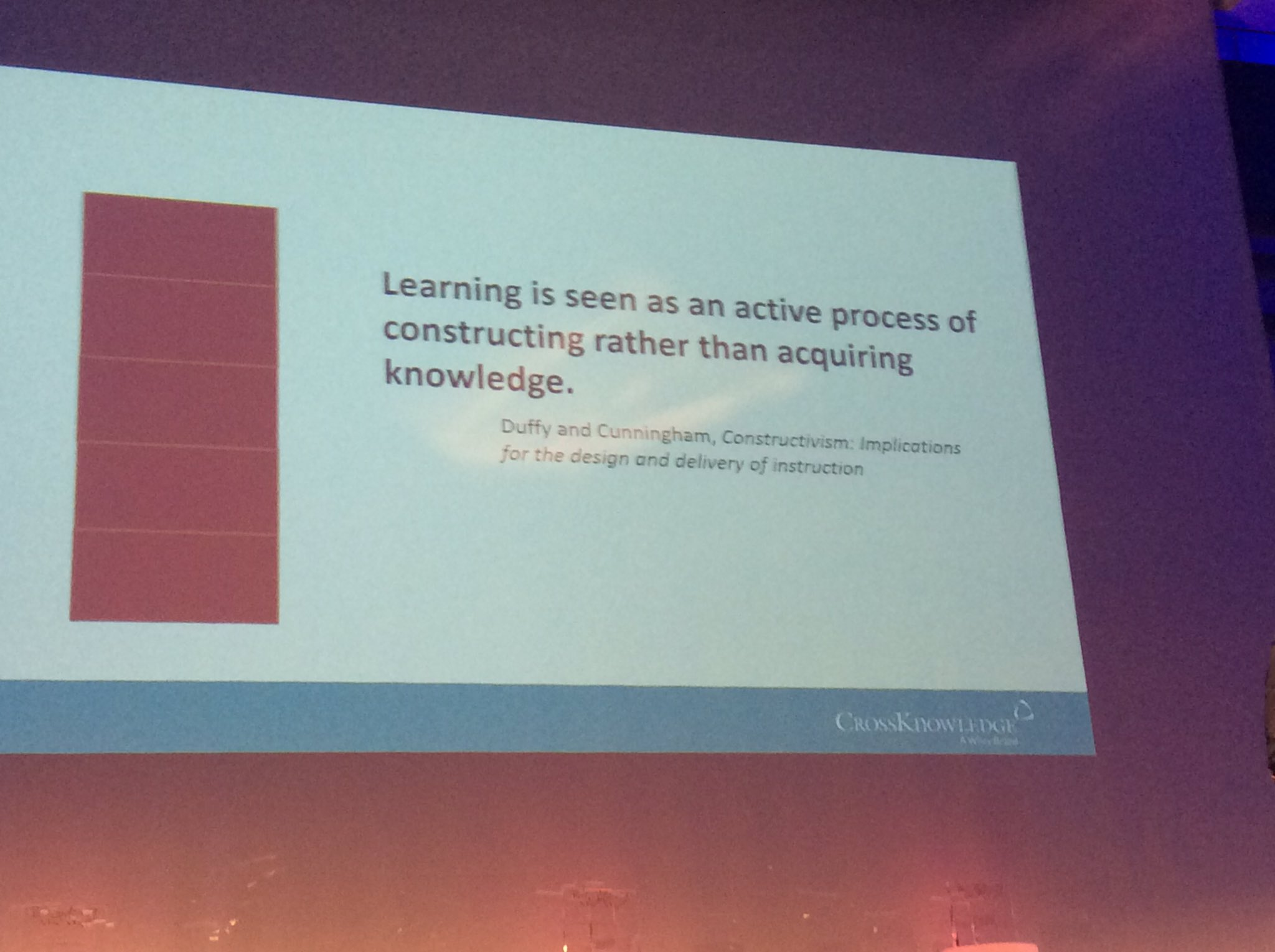 Anke Baak On Twitter Learning Is Constructing Knowledge Together Cktalent16 Https T Co 6rrovsmky0