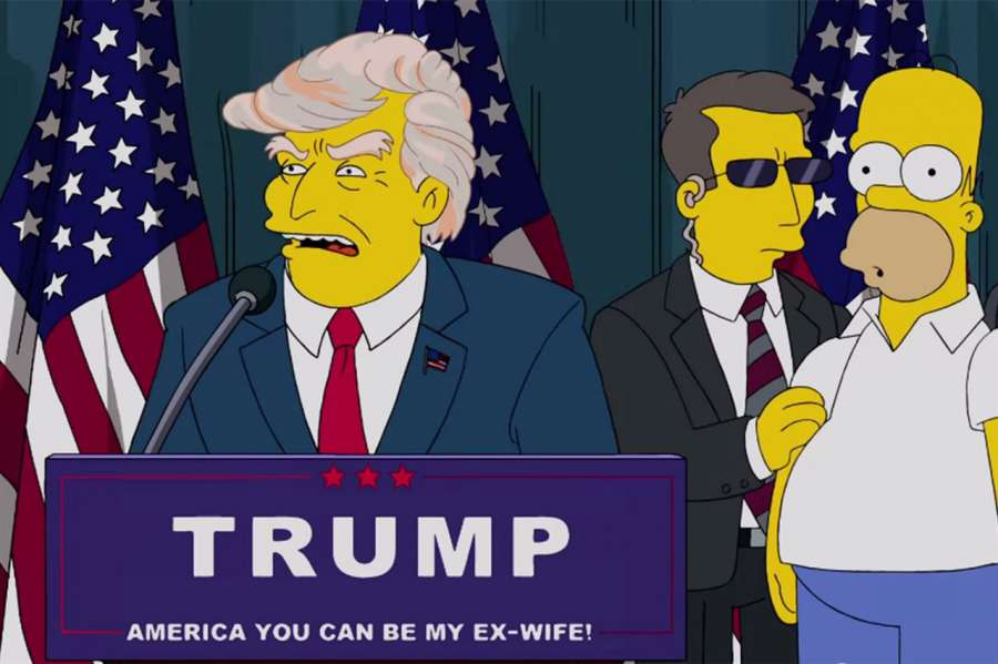 "#LosSimpson ""advirtió"" a EEUU sobre la carrera presidencial de Donald Trump ¡¡hace 16 años!! https://t.co/9ffEK0CNcY https://t.co/MJsASBxWdY"