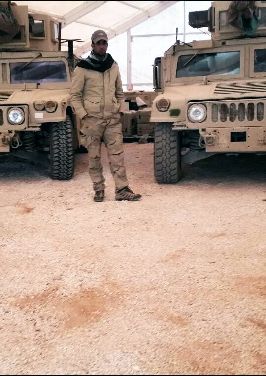 Syrian Opposition ready deploy Humvee vehicles, after they clear ISIS from Jordan border, attack soon