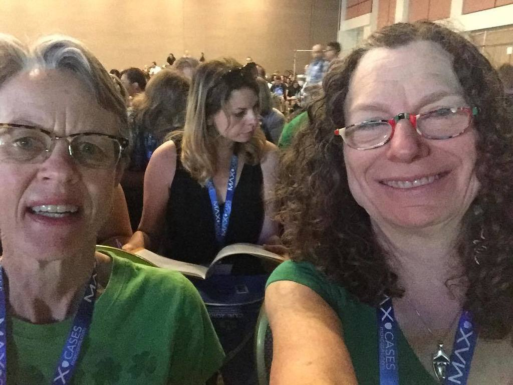Enjoying the #cue16 open session w/ @exdodds @lizdodds https://t.co/Vj2cnb620o https://t.co/EczDyWSn0g