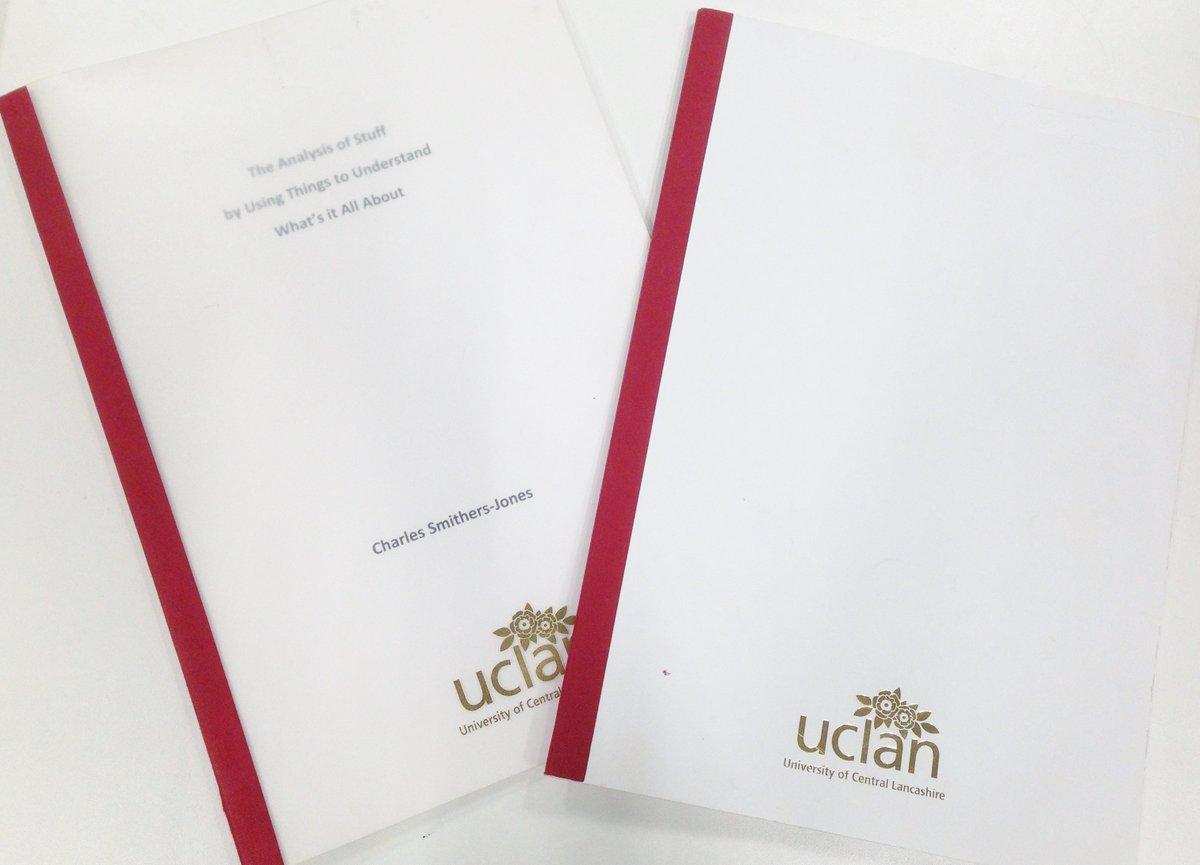 Declaration of thesis utm word