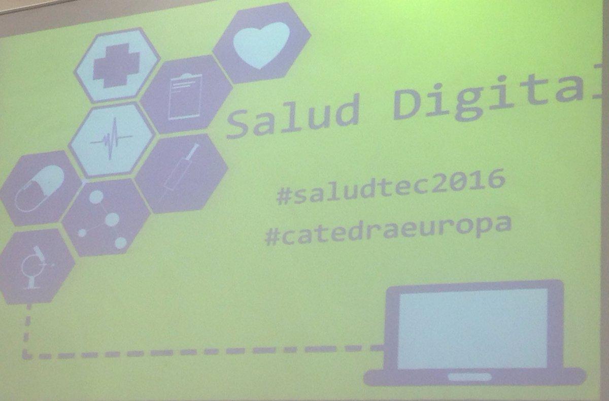 #saludTEC2016 #CatedraEuropa https://t.co/RZY4oIpTcb