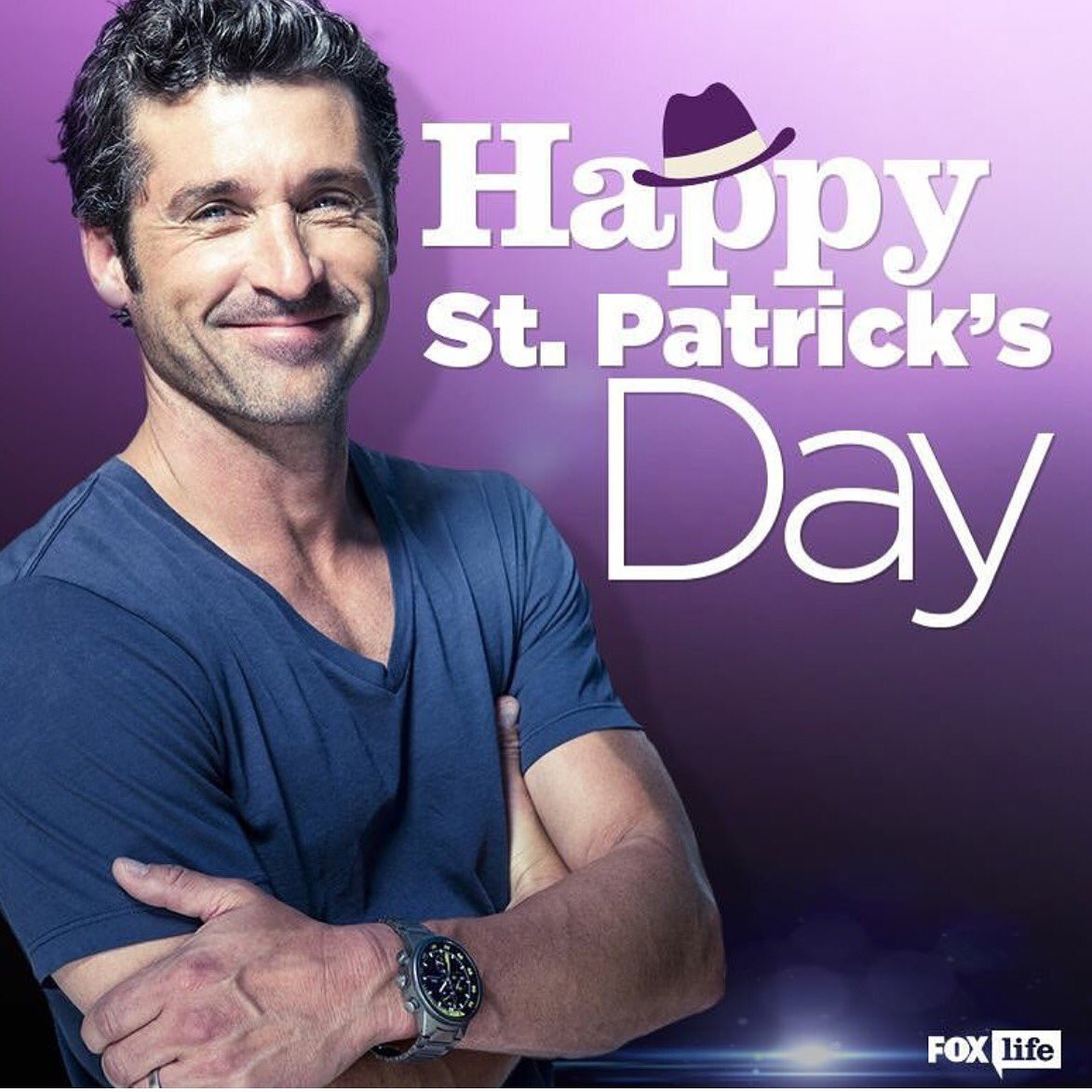 You're welcome. #StPatricksDay #patricksday #patrickdempsey https://t.co/Pq0rB1yhNk