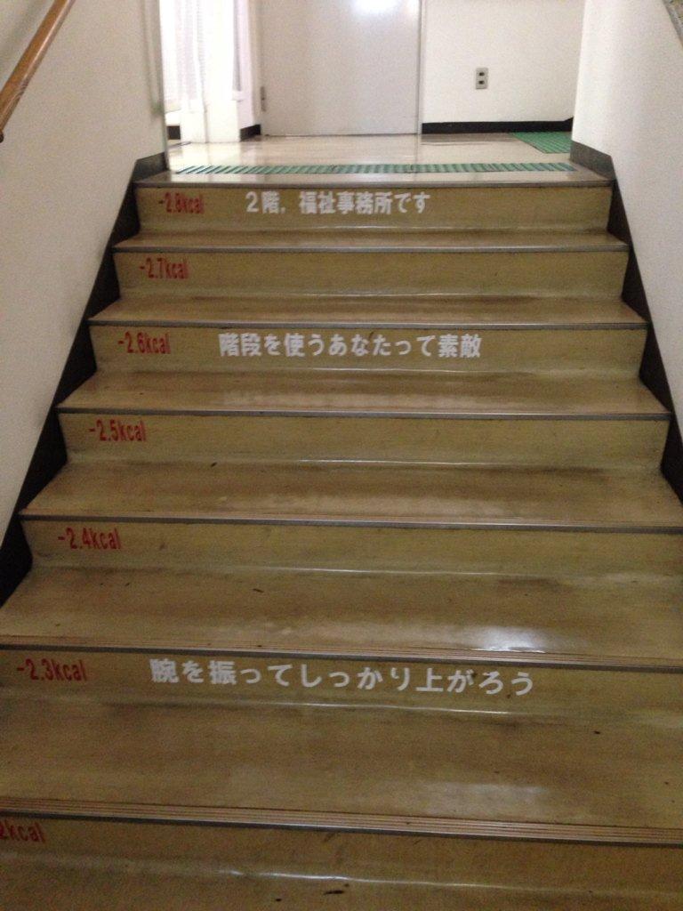 階段を上るごとに、どんどん良い気持ちになれる、そんな階段がこれっww