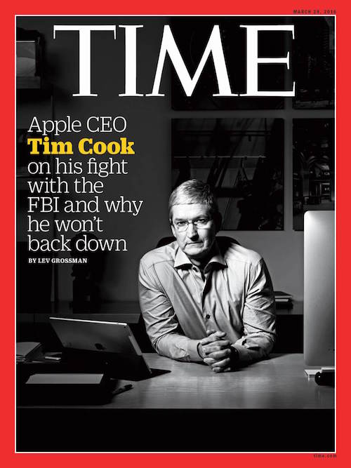 TIME Magazine Cover with Tim Cook