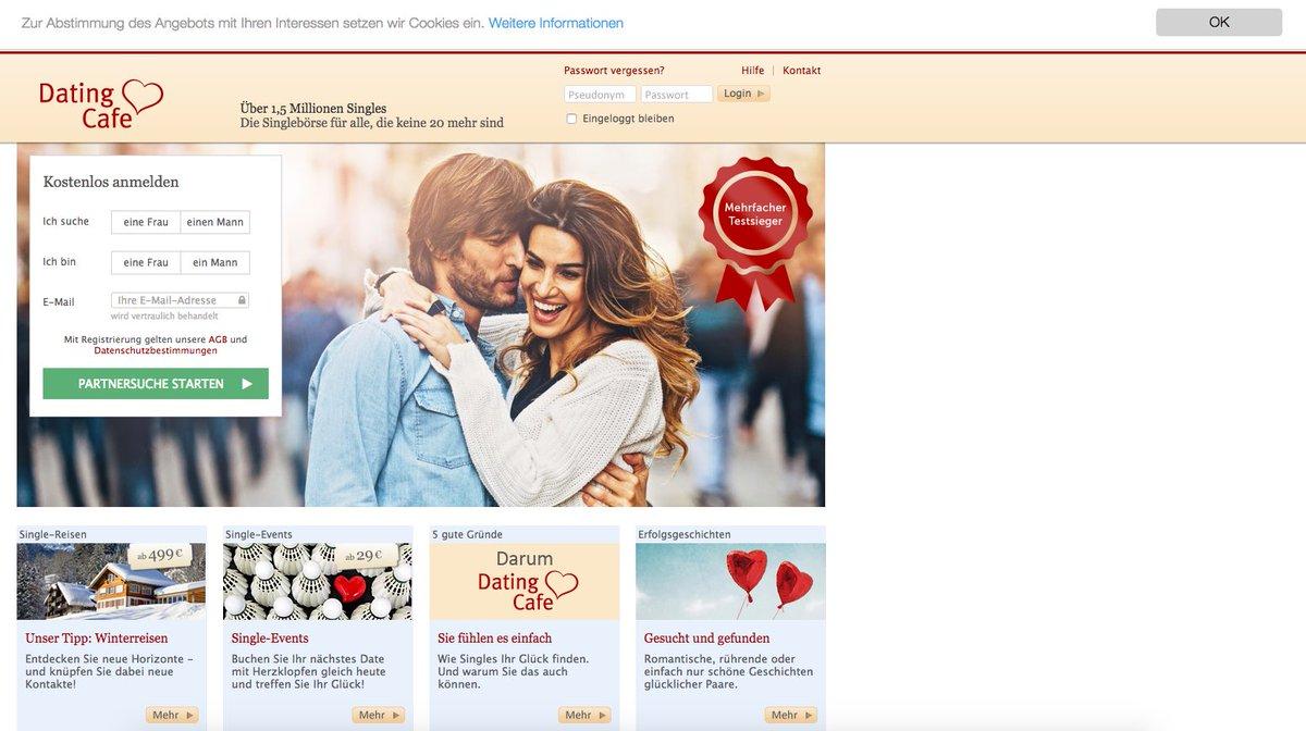 Dating-Café-Website