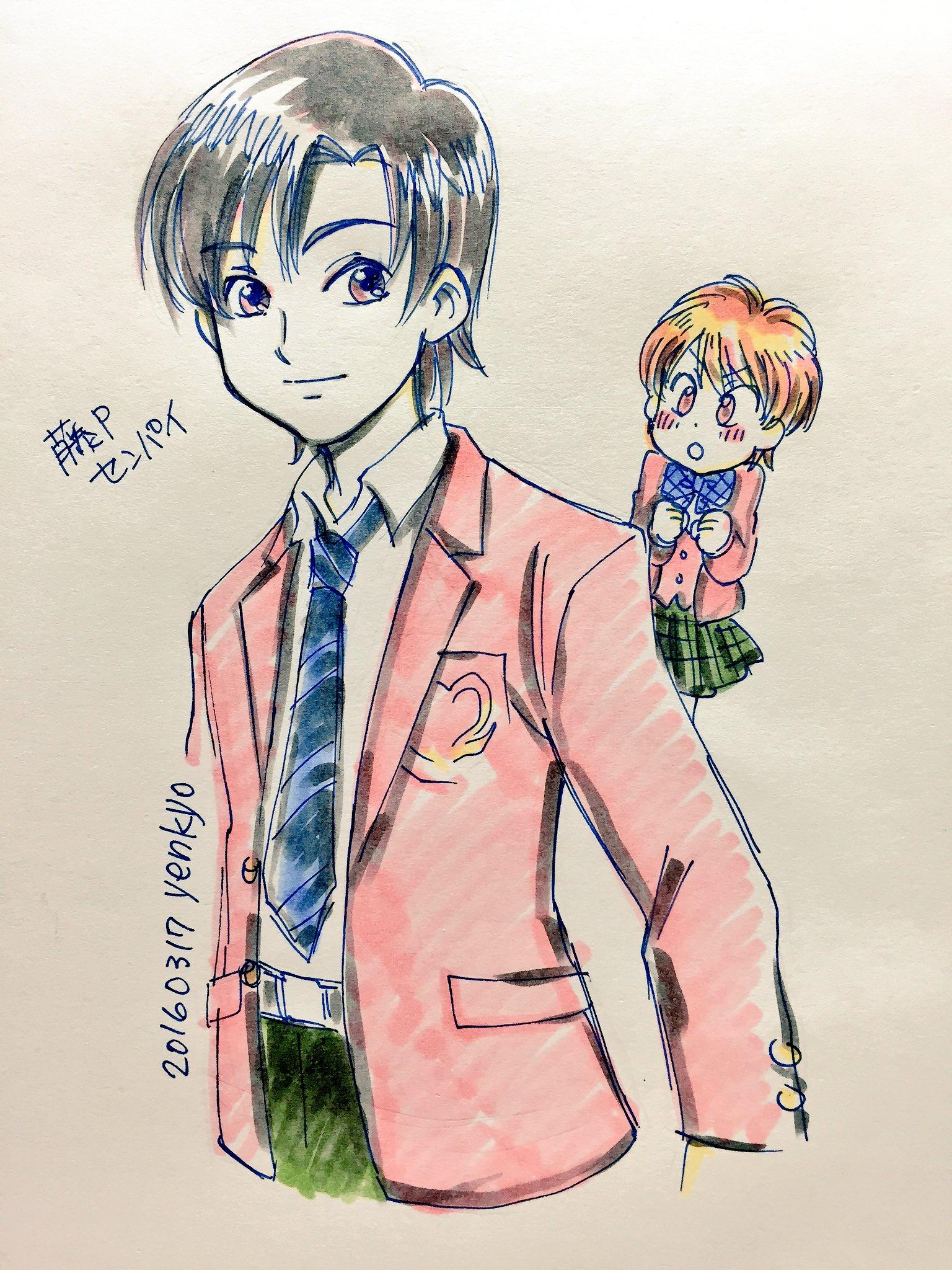 yenkyo@スパコミ3日西K64a (@yenkyo)さんのイラスト