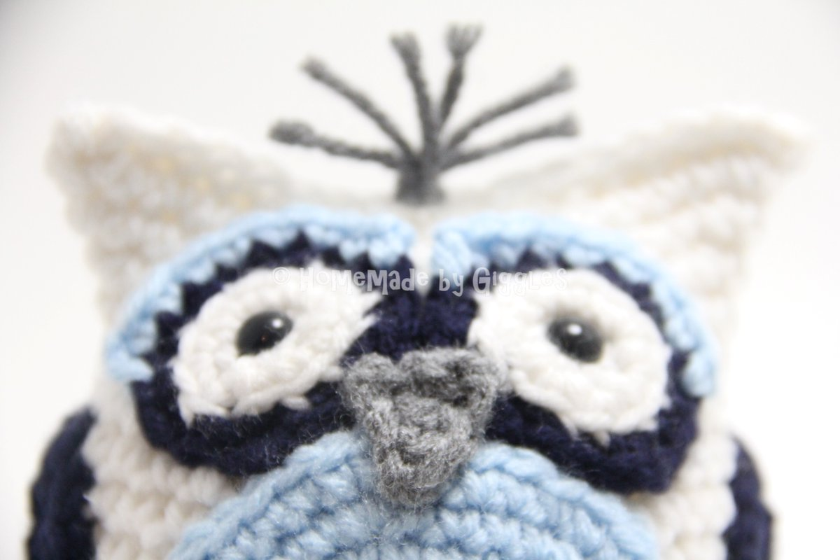Homemade By Giggles On Twitter Free Adorable Bean Bag Owl Crochet
