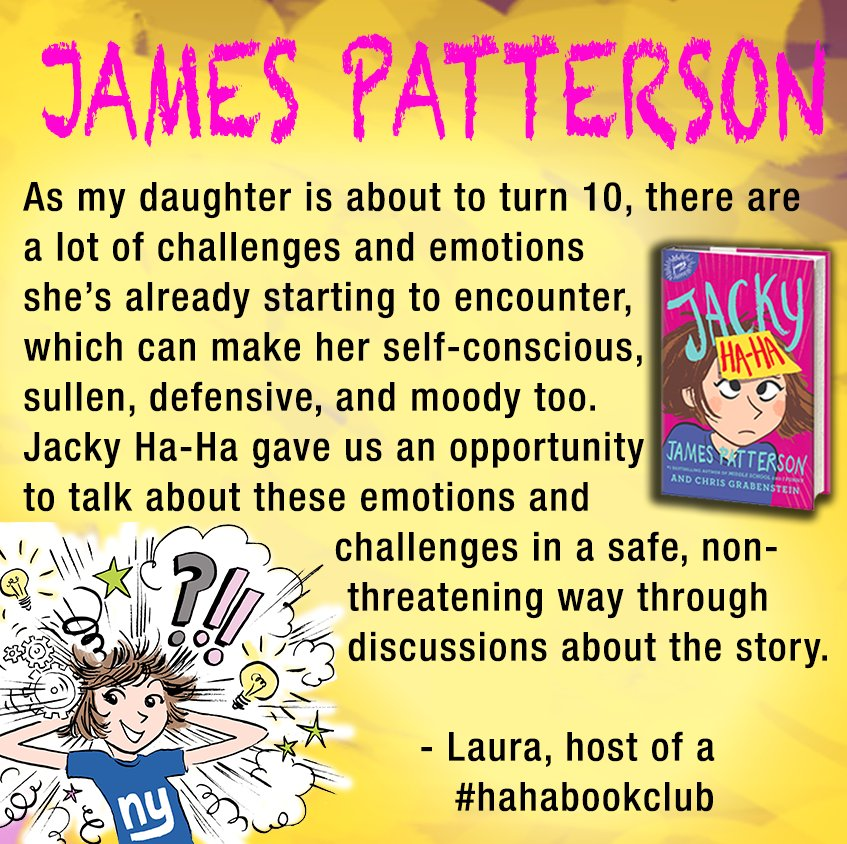 James Patterson On Twitter Heres What One Mom Had To Say About