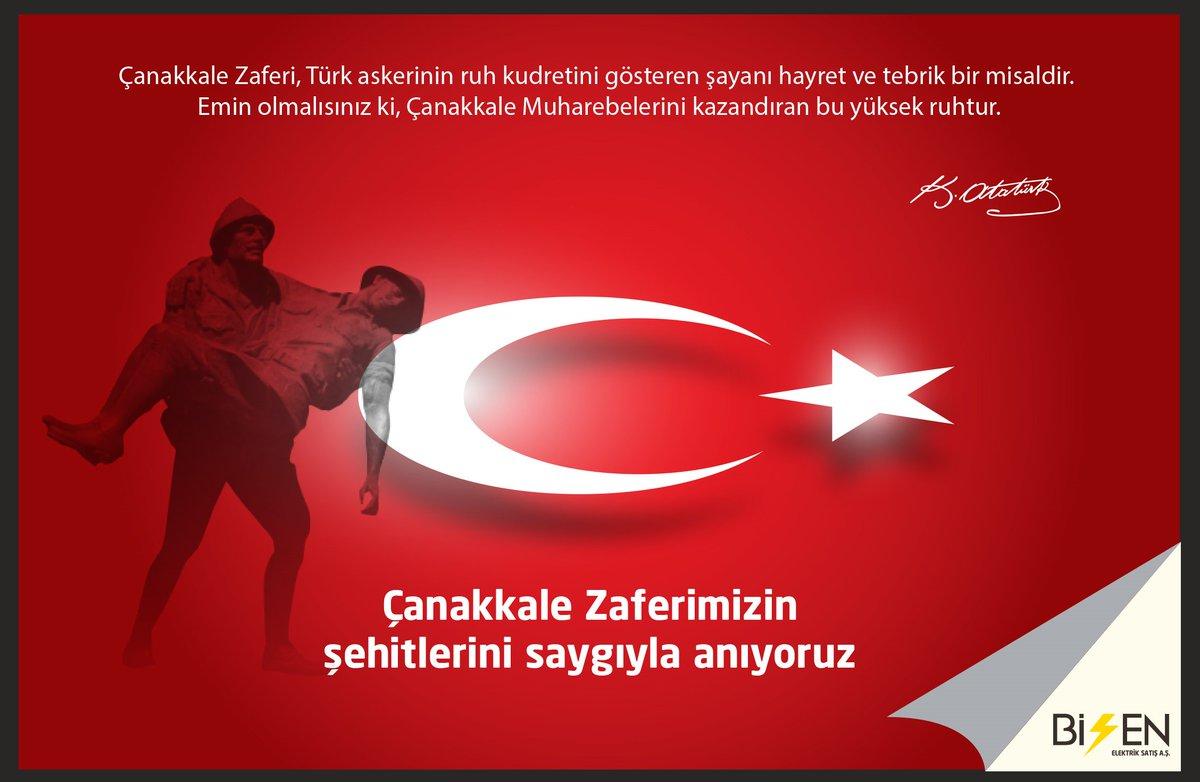 18 Mart Çanakkale Zaferi Şehitlerimizi Saygıyla Anıyoruz. https://t.co/RgcA6t8m0s