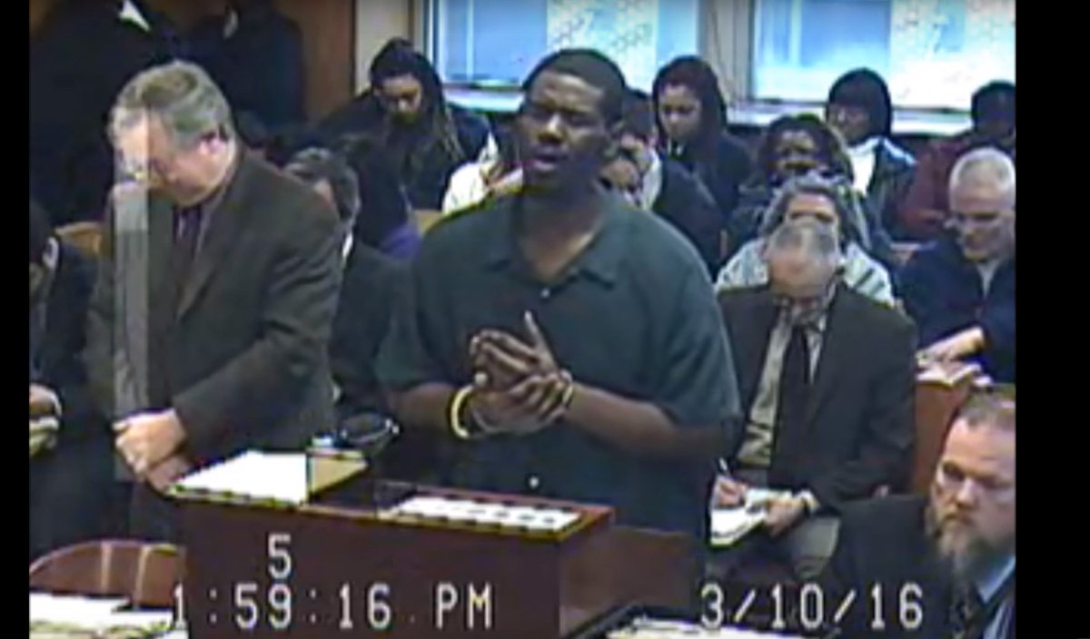 WATCH: Before being sentenced to prison, man sings Adele-inspired apology in Mich. courtroom https://t.co/Avm4aQcVgf https://t.co/rV6Ua2jshB