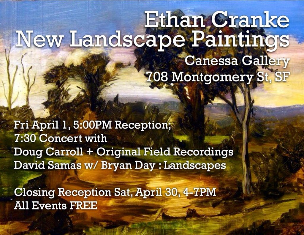 A new music concert that celebrates my paintings will be held on opening night. #NewMusic #NewGenres #Landscapes https://t.co/XPYwmXOR1b