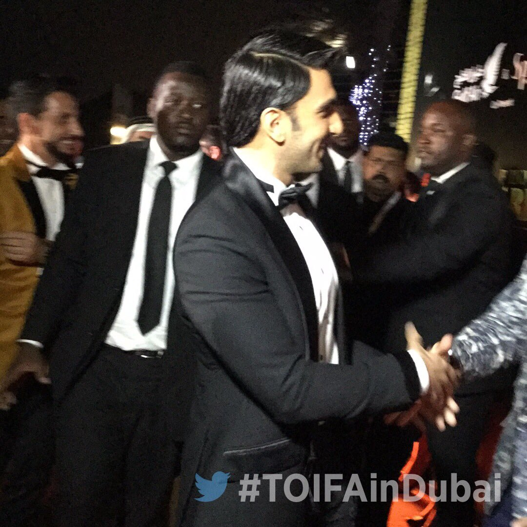 Ranveer Singh at TOIFA 2016 in Dubai Image-Picture