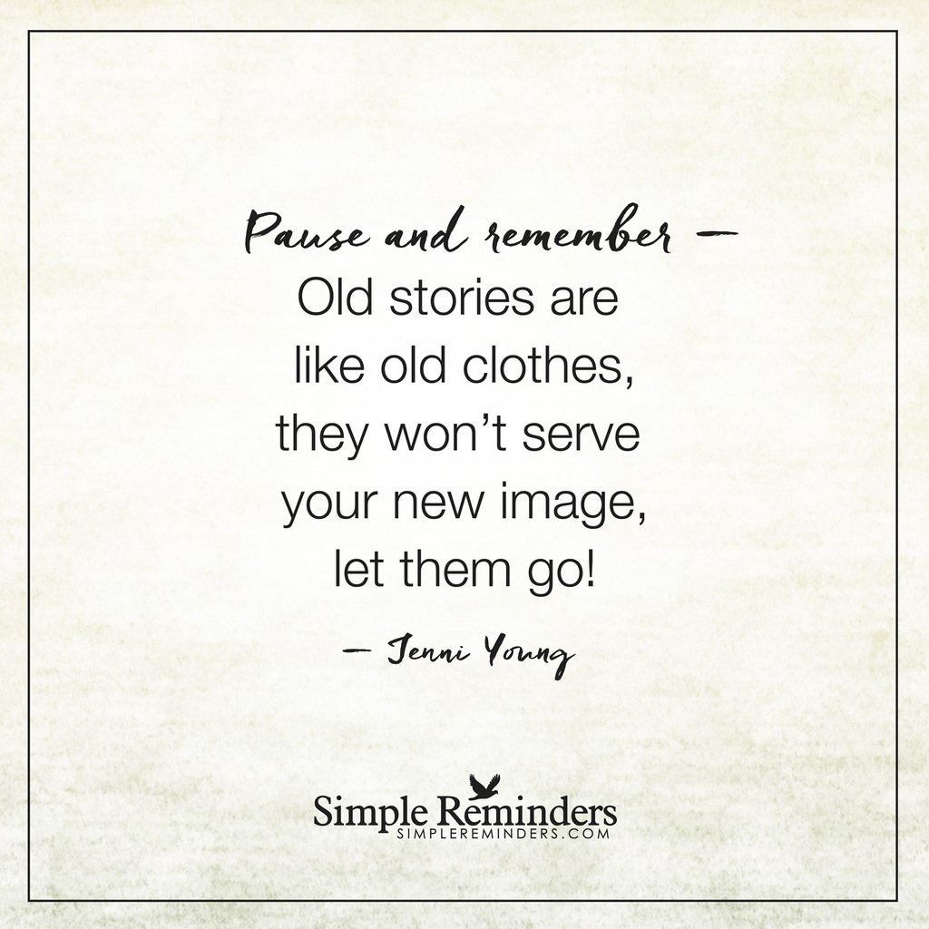 Jenni Young: Old stories are like old clothes,... #Quotes #SR https://t.co/9a1H2ZIYDE
