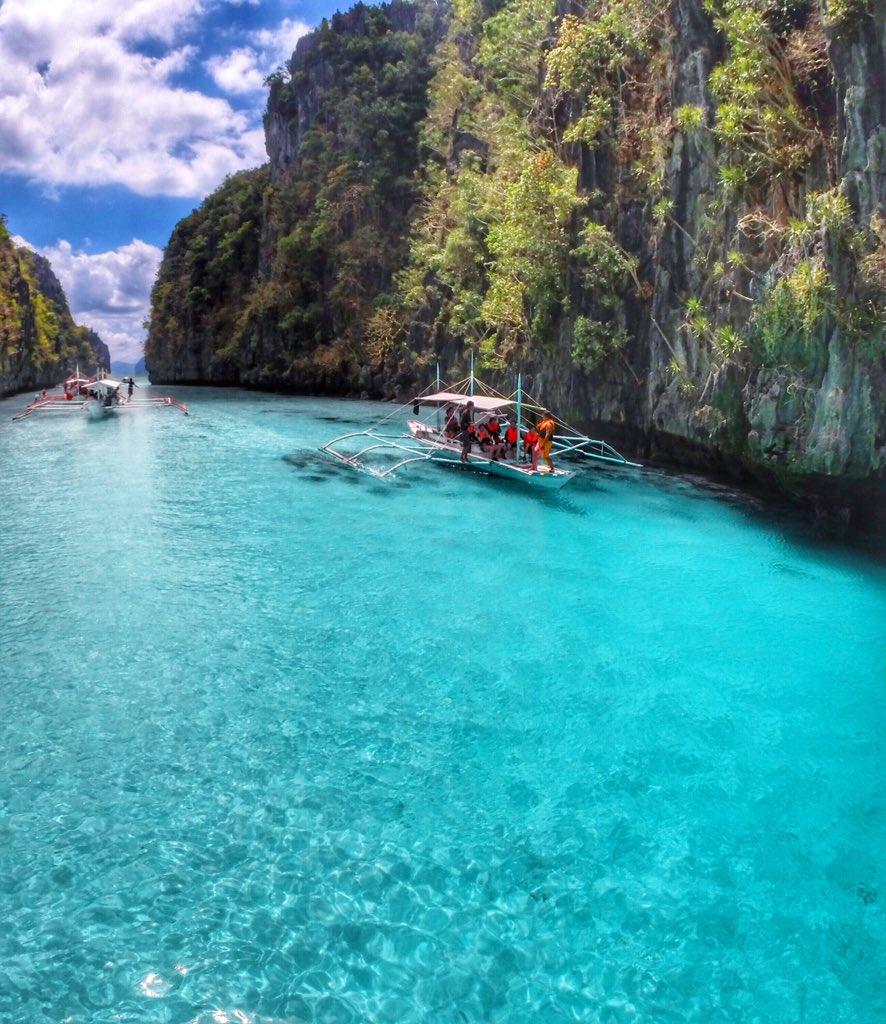 Ig Warrencamitan On Twitter Big Lagoon El Nido Palawan