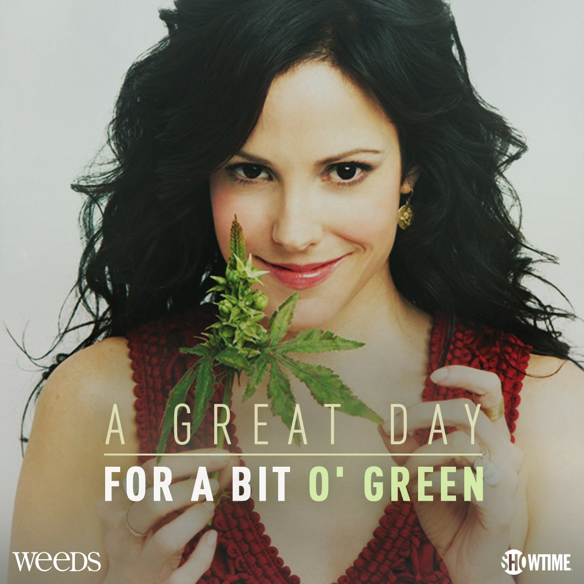 Go green this #StPatricksDay! Stream #Weeds on https://t.co/pvDSrv0YpY. https://t.co/PVztFjfRgP