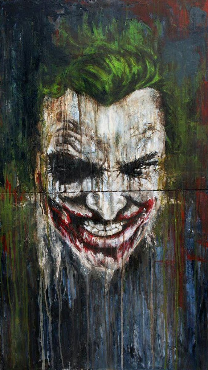 HD Phone Wallpapers On Twitter The Joker Batman Evil Crazy Movies Tco SUhhB0nQYQ