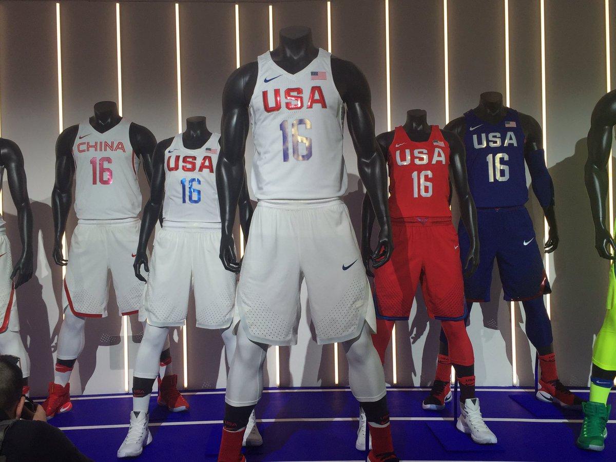 Usa Basketball Releases New Uniforms Sports Logos Chris