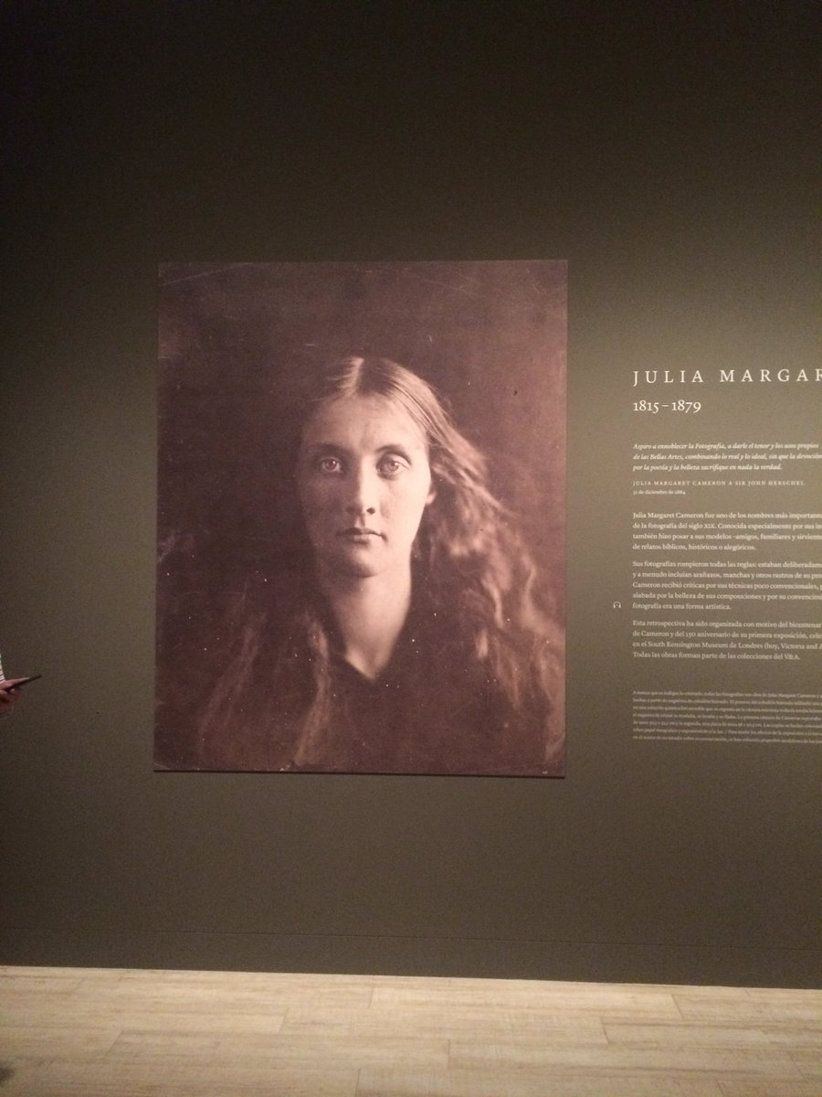 Julia Margaret Cameron es tía abuela de Virginia Woolf  #expo_jmcameron https://t.co/kJlUNqKSNF