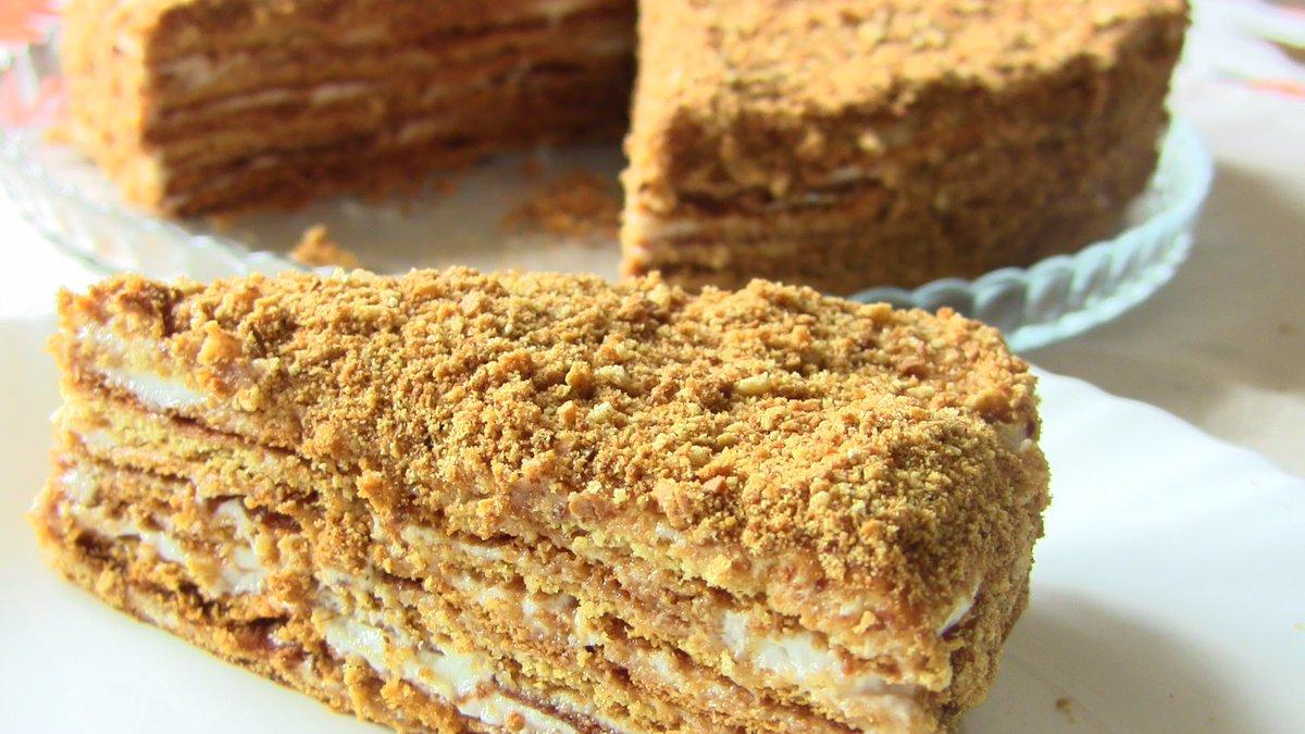 Вкусный медовик торт c фото