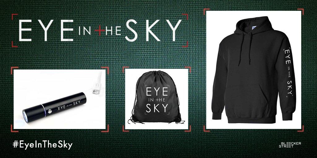 Follow us & #RT for a chance to win a #EyeInTheSky prize pack! Winners chosen 3/25! Tix: https://t.co/upZDalHxEr https://t.co/A5M1D95u7l