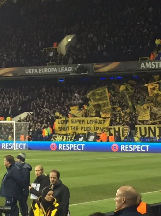 UEFA super league  Shut the fuck up