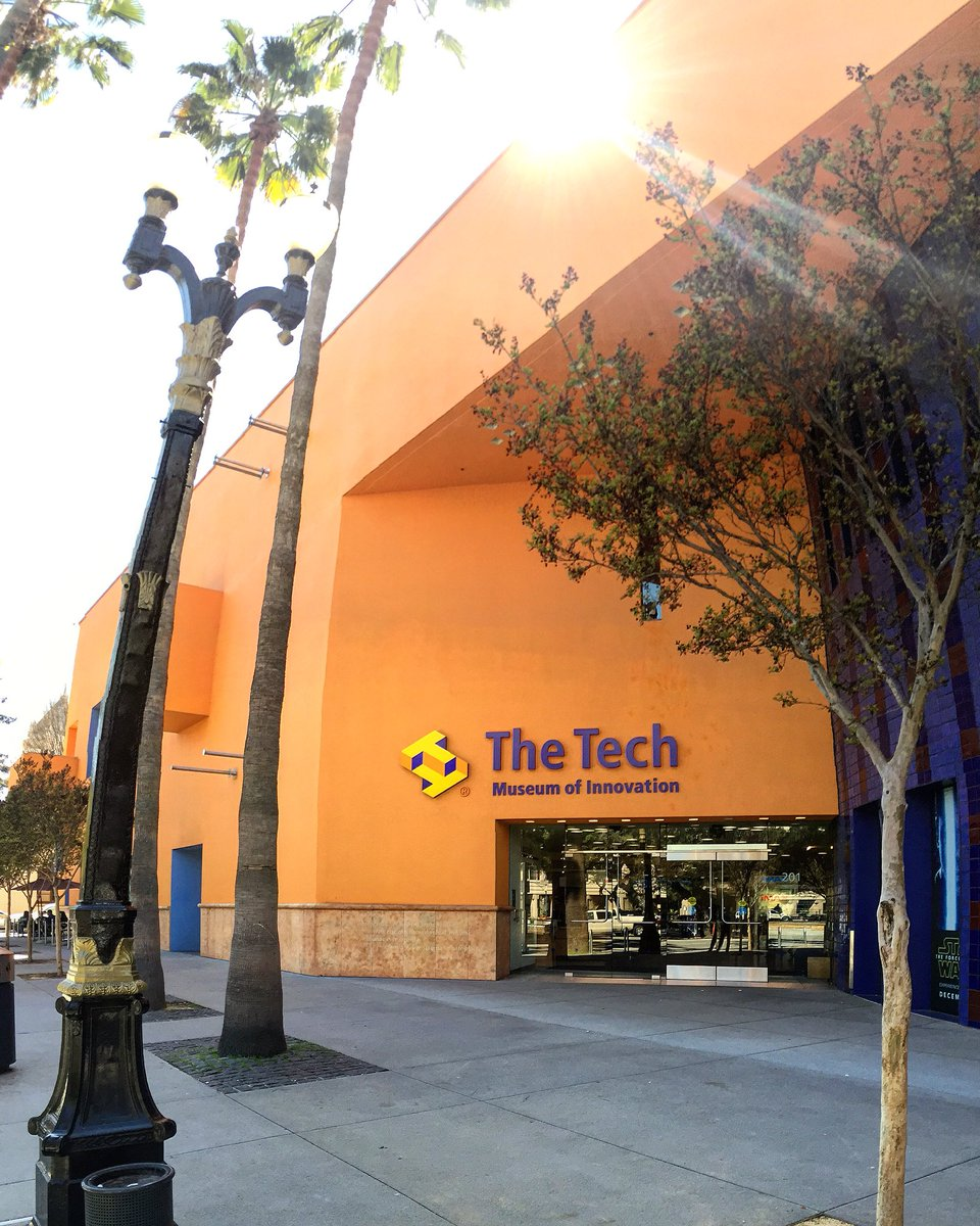 @TheTechMuseum has a Kool new exhibit opening Friday. Get a preview on @KTVU 4-6p 2day! #southbay life https://t.co/WuB36Tuk8C