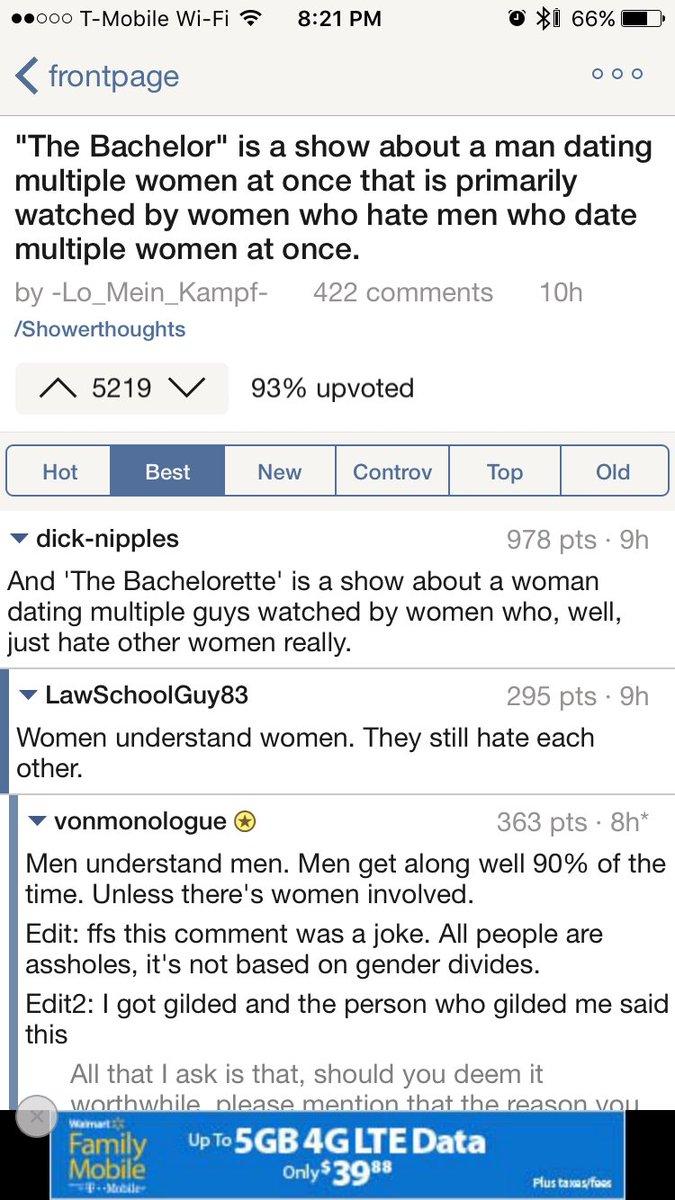 Man dating multiple women
