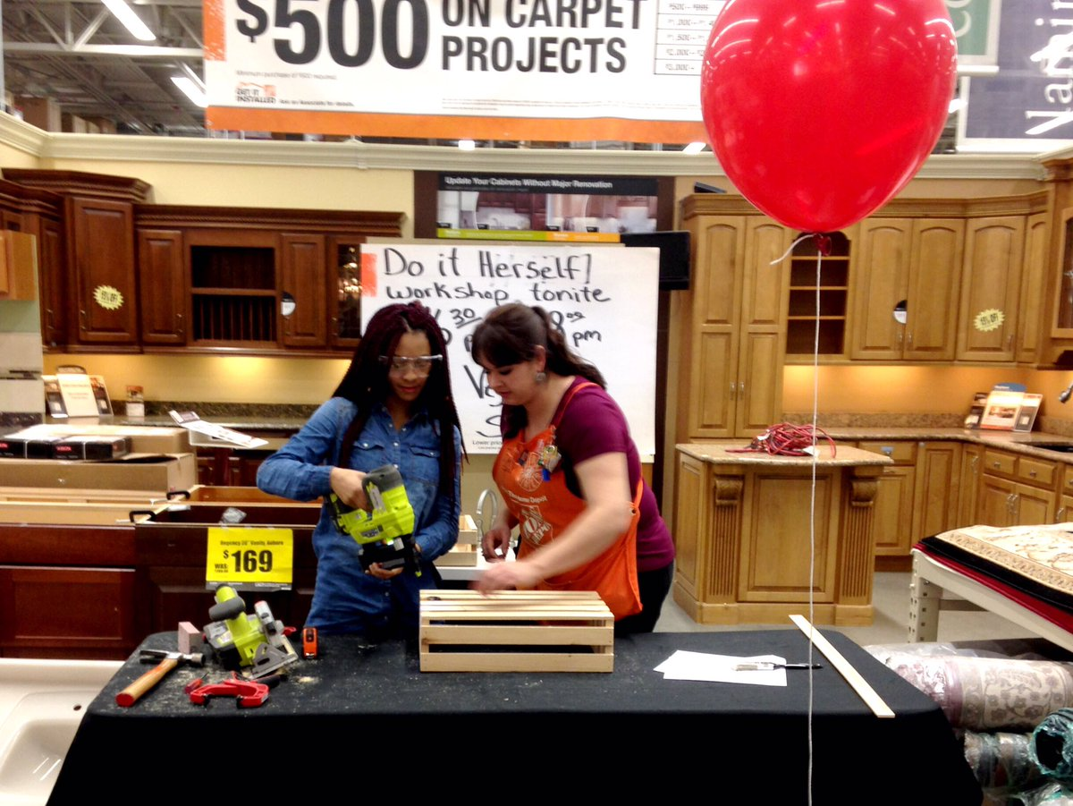 Hamden Ct Home Depot On Twitter Another Great Do It Herself