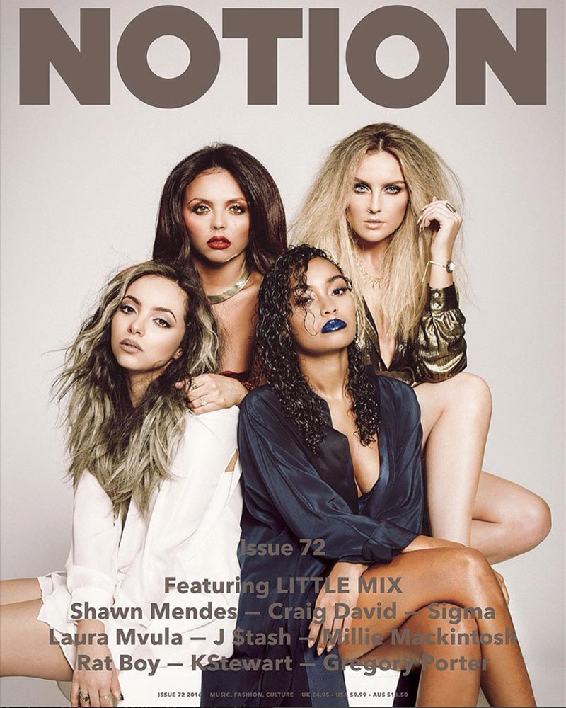 My new cover of @LittleMix for @NotionMagazine is out!!! #ukmusic #talent https://t.co/Vr7W9m0P6n