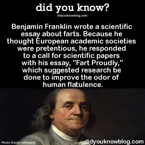 ben franklin essay fart proudlyben franklin essay fart proudly one day