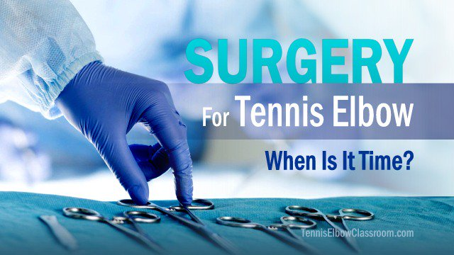 Tennis Elbow Surgery: When Is It Time? - https://t.co/LHpxT2NpYR #TennisElbow https://t.co/vnlmF1IiCs