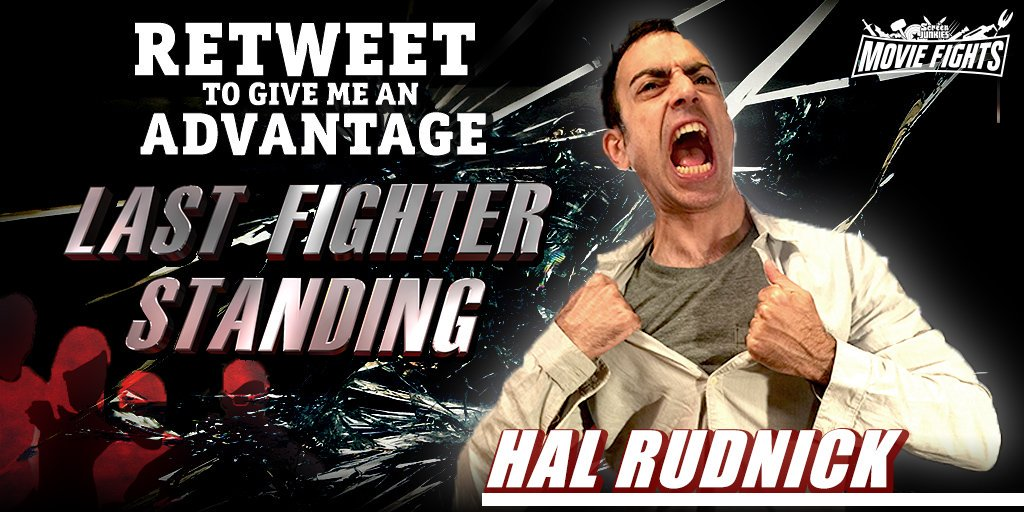 Yo! Plz help support me on next week's #MovieFightsLive special event #LastFighterStanding. Your RT can help me win! https://t.co/wHhhOGnOg7