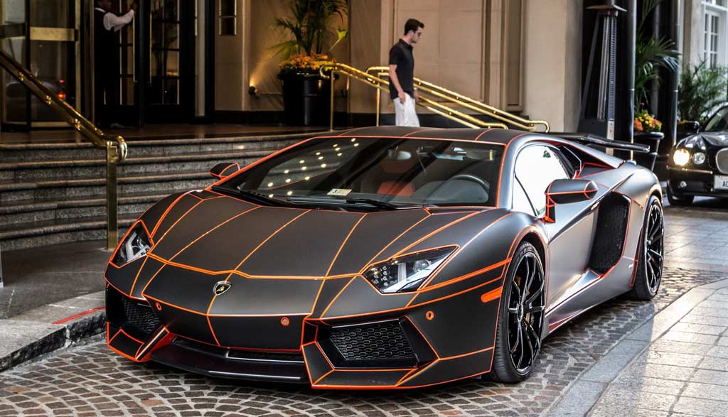 Luxe Lifestyle On Twitter Matte Black Tron Inspired Orange