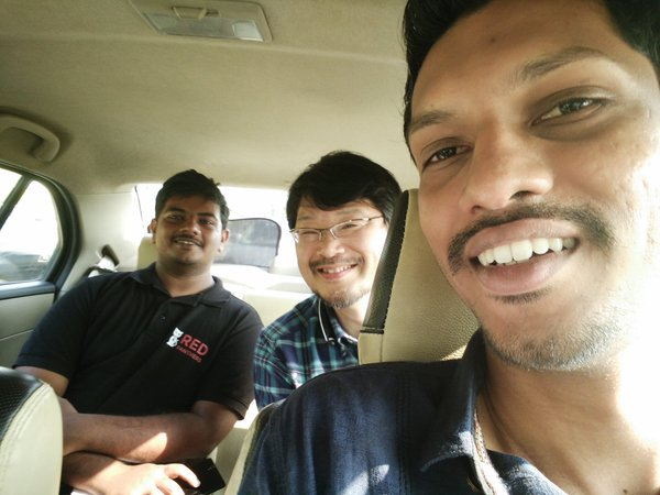With the arrival of Matz in #kochi #RubyConfIndia is all set to rock!! #ruby #india https://t.co/ic4QhGyEAc