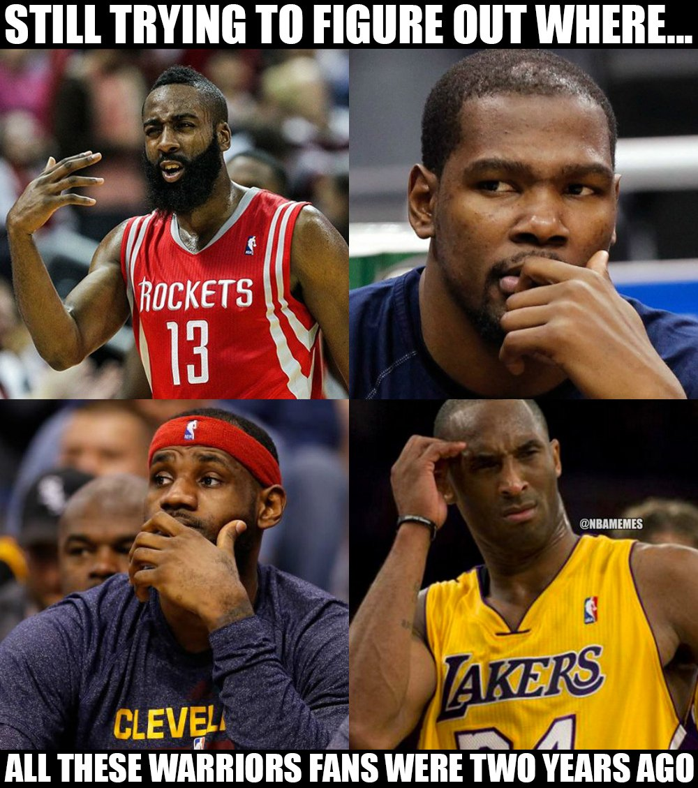 Rockets Vs Warriors Meme