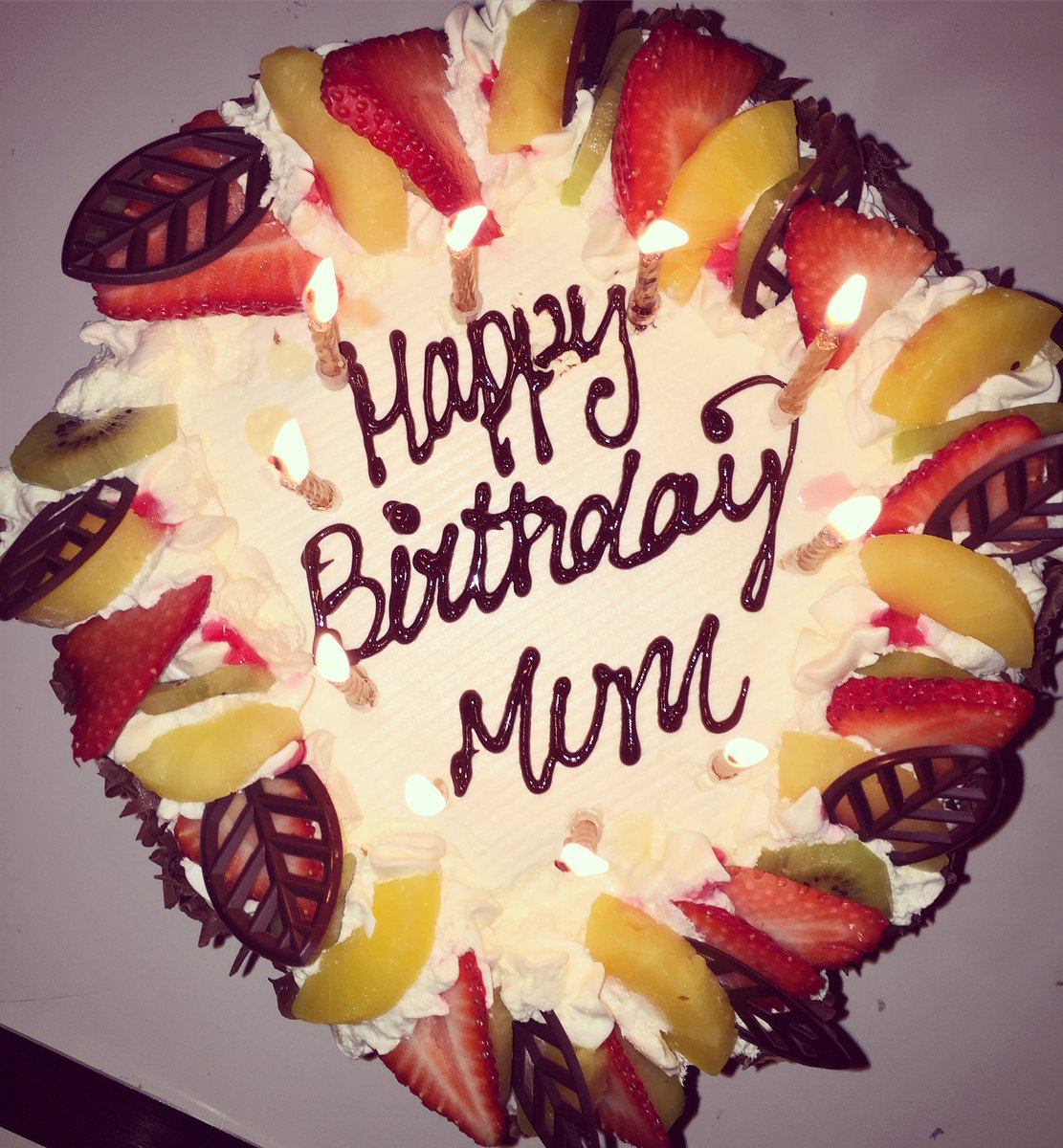 Cutting My Mummy S Cake Happy Birthday Mum Love You With All My