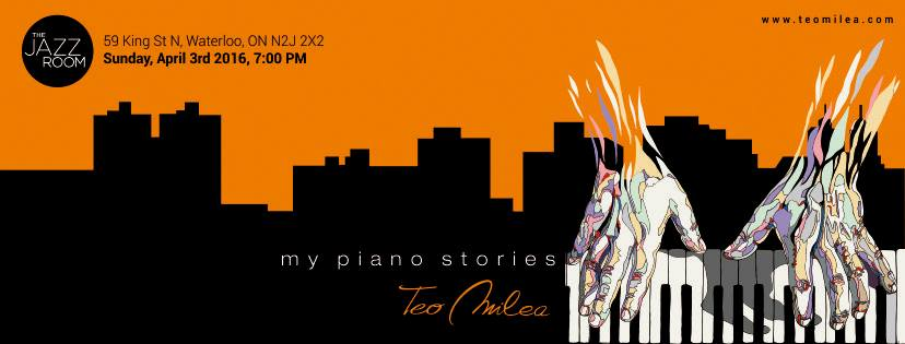 Tonight @teomilea my piano stories in Waterloo in association w/ #AEFest at @KWJazz #Ontariohttps://t.co/QbcUi9jwoZ https://t.co/yBDxFKxVCK