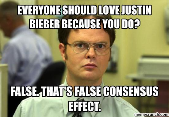 "The ""False Consensus Effect"": An Egocentric Bias in Social ..."