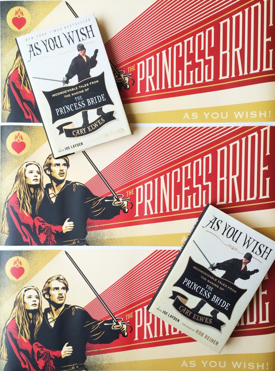 RETWEET to enter to win a SIGNED copy of @Cary_Elwes's book #AsYouWish plus this fab poster! #PrincessBrideonNetflix https://t.co/Fk7R2yjeZj