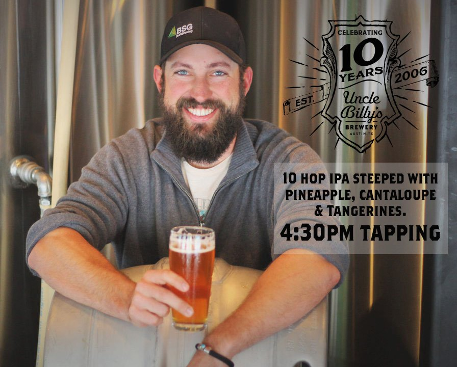 To kick off our 10th year of brewin' & barbecuin' we have a special First Friday Firkin tonight. #10YearsOfBeer https://t.co/qD5vCtr3aW