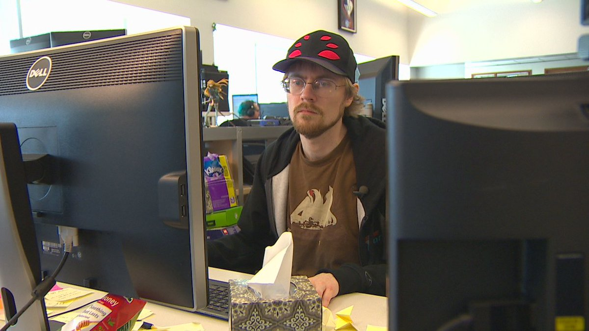 Kyle's autism made it hard to find a job ~ until @Microsoft discovered his talents. #komonews #AutismDay2016 https://t.co/SvUzCkeA9d