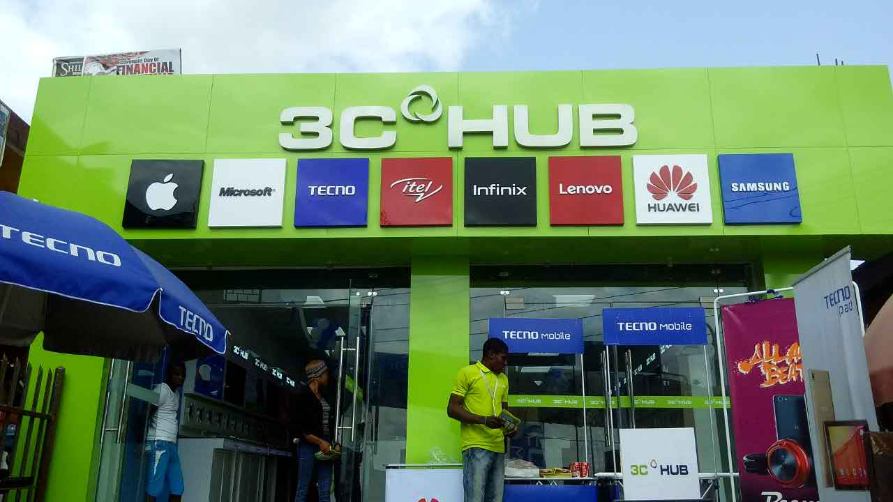 10 mobile phone retail outlets in Nigeria