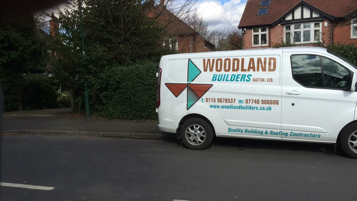 Stolen from Hall Drive Chilwell today. Transit Van pj53 plate, writing on like this pic (diff van) #ng9 #Nottingham https://t.co/DLI4oWO1Rr