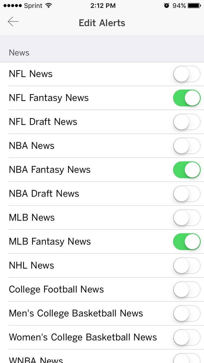 ESPN Fantasy Sports on Twitter: