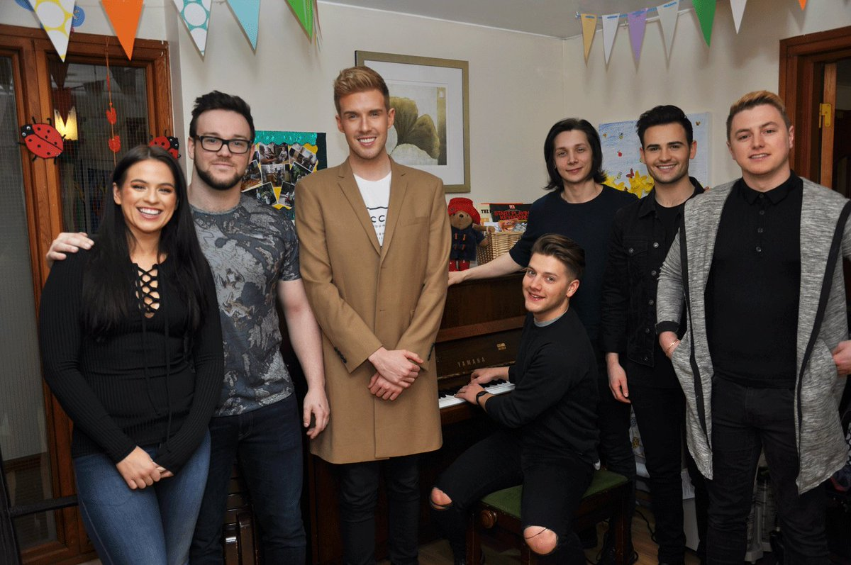 Thank you @Collabro @officialAJBrown & @CatMurrayOpera for taking time out of the #CollabroTour to visit us today! https://t.co/lX4GpZt3h5