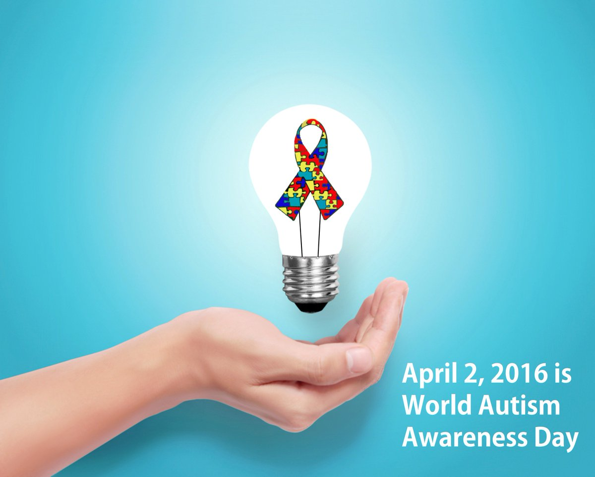 April 2nd is World Autism Awareness Day! #autism https://t.co/slteSPZrdm