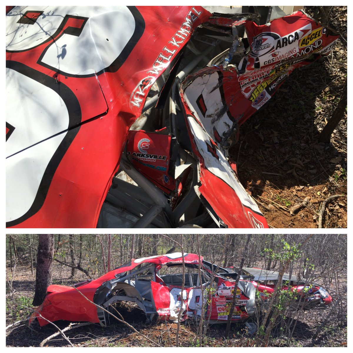 Dale Earnhardt Jr Collects Wrecked Race Cars