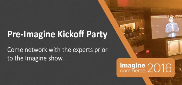#MagentoImagine is around the corner! Register for the #KickOffImagine Party on April 10: https://t.co/kKD265HDGY https://t.co/VGzyKYCrOt
